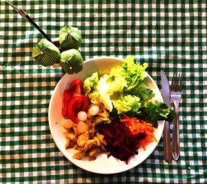 Parte 1: As saladas.