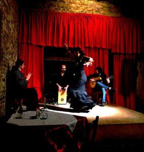 O segundo show: flamenco.
