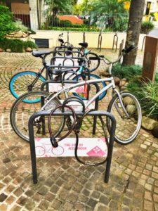 Da próxima vez a gente vai pedalando ;)
