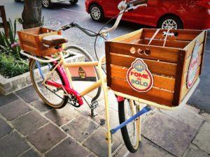 Coisa mais querida essa bicicleta!