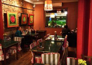 Salão onde jantamos :)